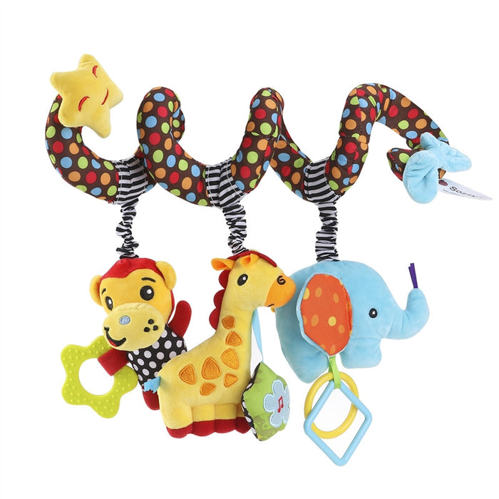 Soft Spiral Plush Animal Baby Toy