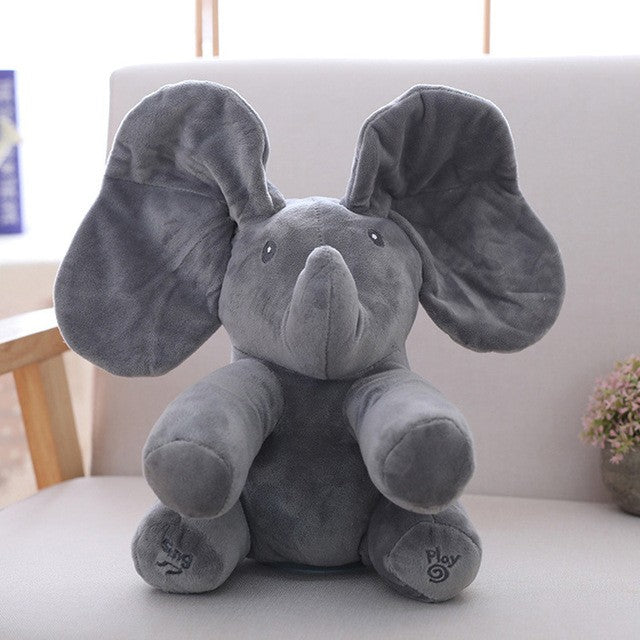 Peek A Boo Elephant Music Toy