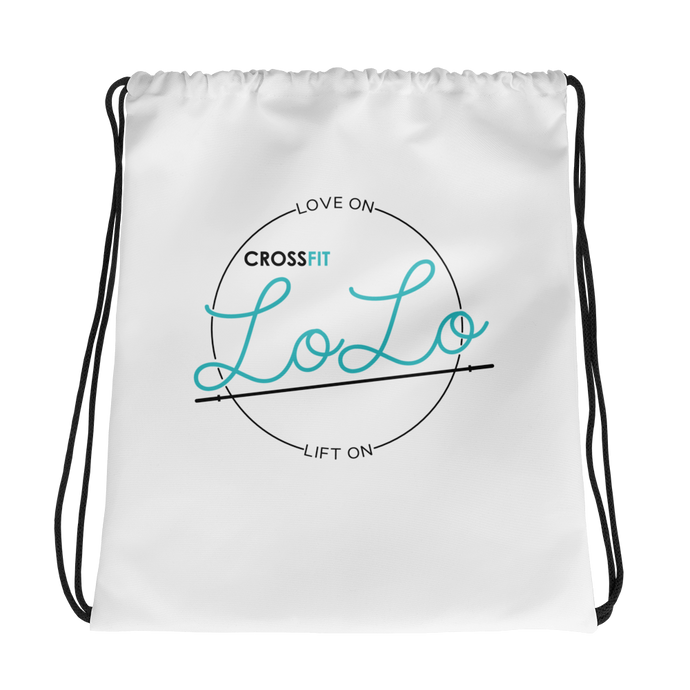 LoLo drawstring bag
