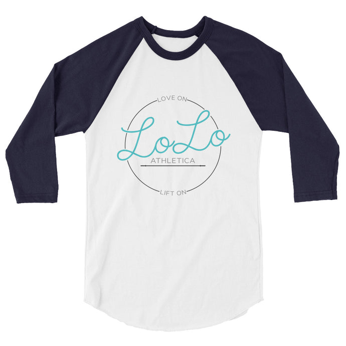 Love on Lift on - 3/4 sleeve raglan shirt