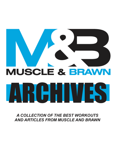 Muscle and Brawn Archives - The E-Book