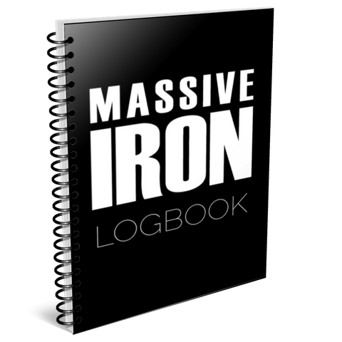 Massive Iron Training Logbook - 220 Pages