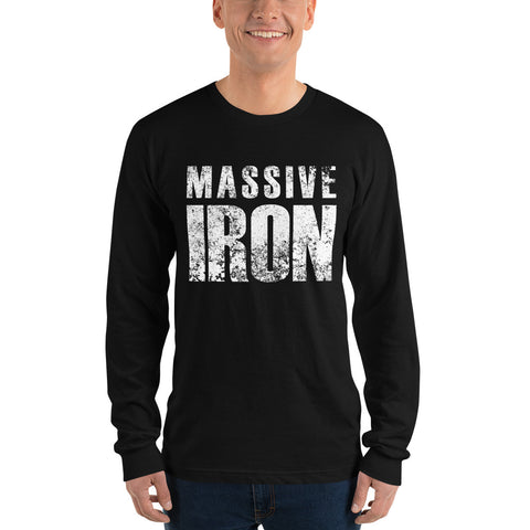 """Massive Iron"" Long sleeve t-shirt"