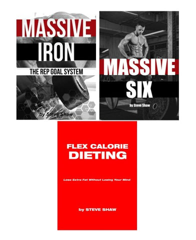 Massive Workout and Diet Bundle - 3 Book Set