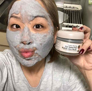 Aqua Clay Bubbling Mask - 100ml