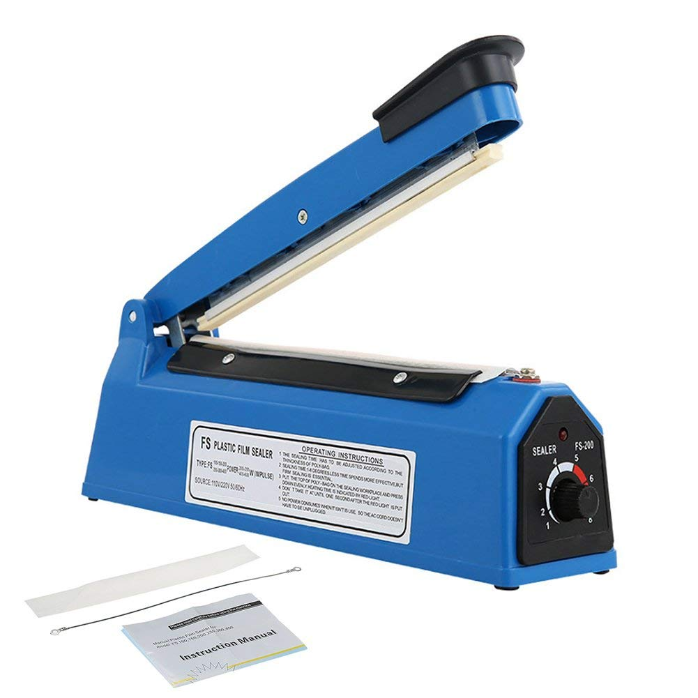 200mm Impulse Sealer for Plastic Bags