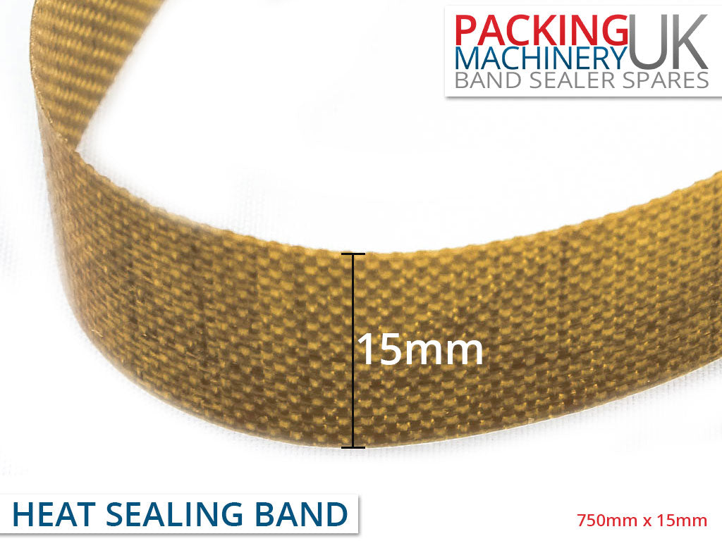Teflon Heat Sealing Band for FRD-1000 Continuous Band Sealer - 750mm x 15mm