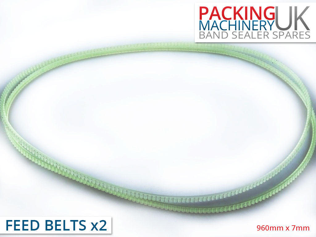 Multi-Wedge Feed Belt for Continuous Band Sealer - 960mm
