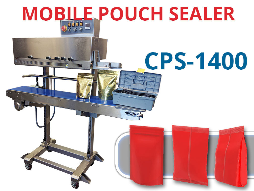 CPS-1400 Mobile Pouch Sealer