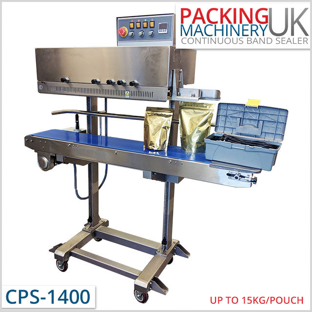 CPS-1400 Mobile Continuous Band Sealer