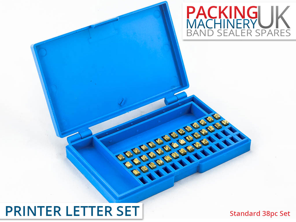 Standard 38pc Coder Digit Set