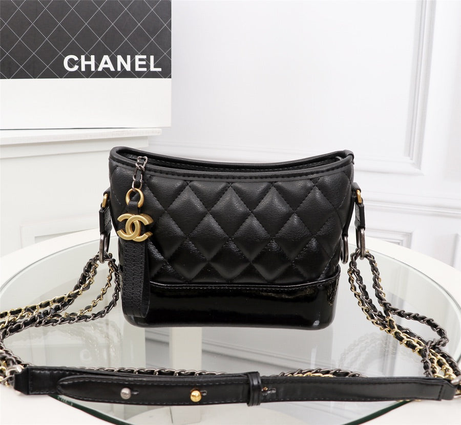 632aebc606 Load image into Gallery viewer, Chanel Gabrielle hobo bag - LUXURYDESIGNERS  ...