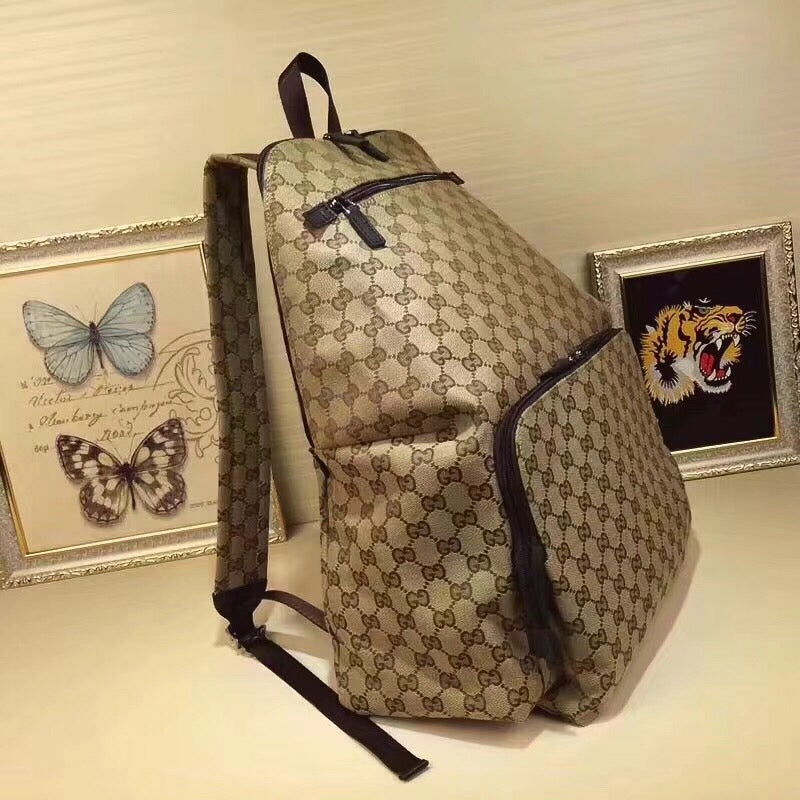 e43144538e3aaa ... Load image into Gallery viewer, Gucci Supreme gg Backpack -  LUXURYDESIGNERS