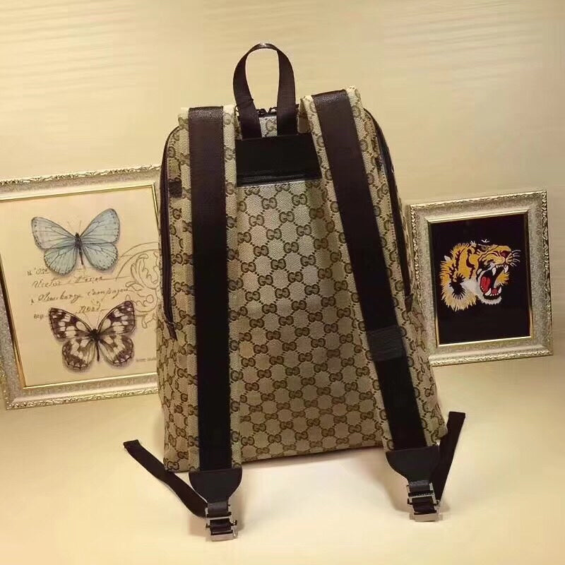 25e883a79c6cc8 ... Load image into Gallery viewer, Gucci Supreme gg Backpack -  LUXURYDESIGNERS ...