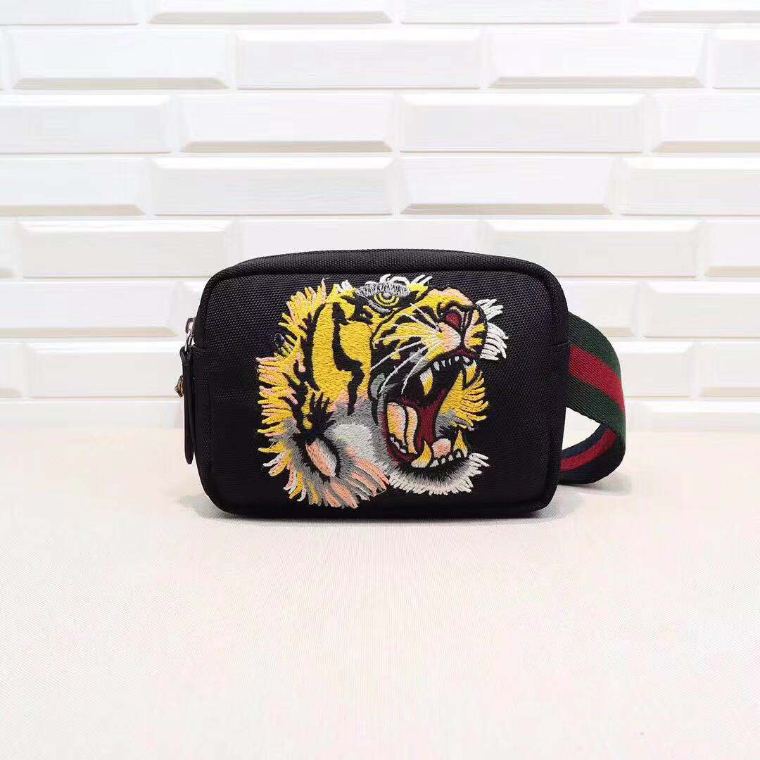 778c8b993b7f Load image into Gallery viewer, Gucci Waist bag Tiger Head -  LUXURYDESIGNERS ...