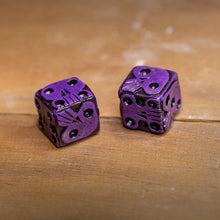 Load image into Gallery viewer, Oogie Boogie Dice - Purple
