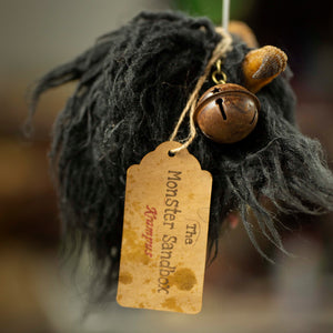Krampus Ornament - Black