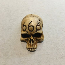 Load image into Gallery viewer, Skull Pin - 666