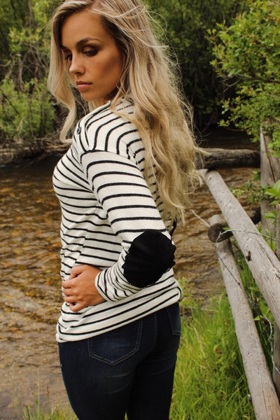 Stripe Elbow Patch