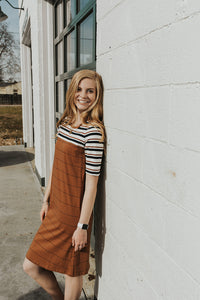 Kari Color Block Dress
