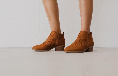 Doly Brown Booties
