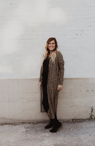 Grace Cheetah Cardigan