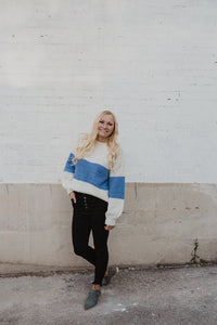 Stripe Fall Knit Sweater