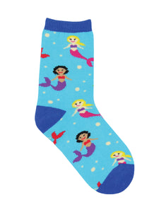 Kids Mermaid You Look Socks