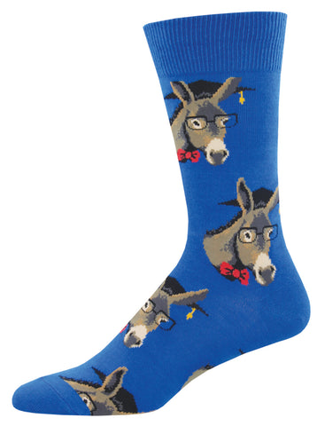 Men's One Smart Donkey Socks