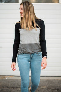 Shelby Color Block Top