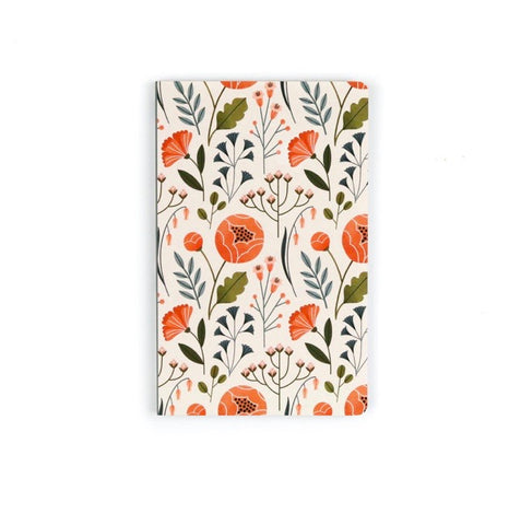 Flowers Layflat Journal - Lined Unit