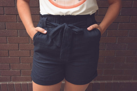 Amber Tie Up Shorts