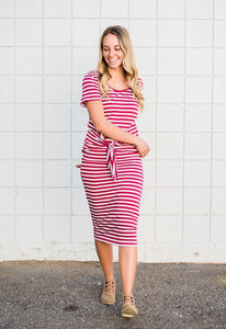 Ieshia stripe Dress