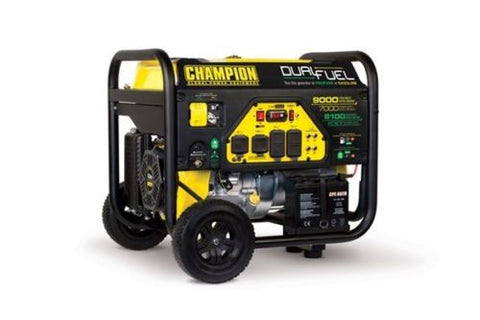 Champion Electric Start 7000/9000 watt Dual Fuel Generator - Parts Junkie