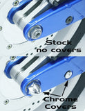 Honda Fury Chrome Axle Covers - Parts Junkie
