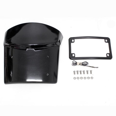 Yamaha Stryker LM Smooth Rear Fender License Plate Bracket - Parts Junkie