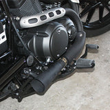 Yamaha Bolt Slip-on Megaphone Exhaust - Parts Junkie
