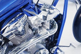 Maltese Velocity Stack Air Intake - Chrome - Parts Junkie