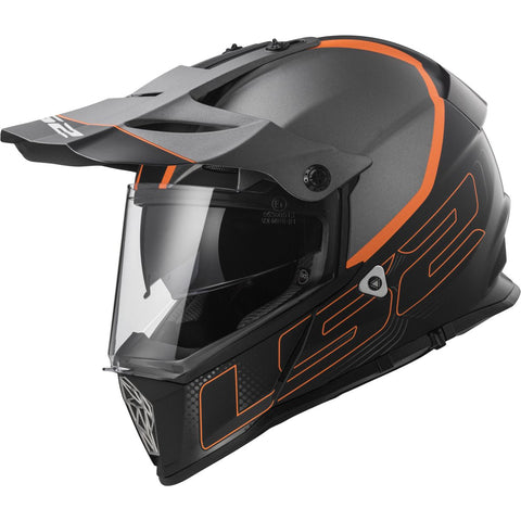LS2 MX436 Pioneer Element Off-Road Helmet - Parts Junkie