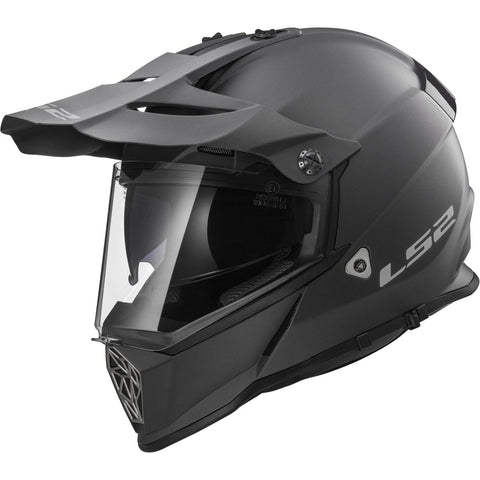 LS2 MX436 Pioneer Gunmetal Off-Road Helmet - Parts Junkie