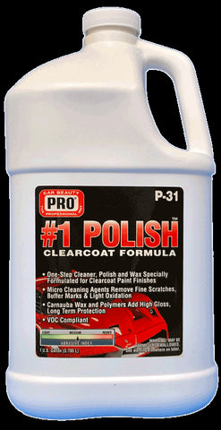 Pro Car Beauty P-31 One-Step #1 Polish - Gallon - Parts Junkie