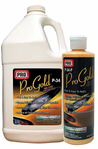 Pro Car Beauty P-34 ProGold Cream Wax - Gallon - Parts Junkie