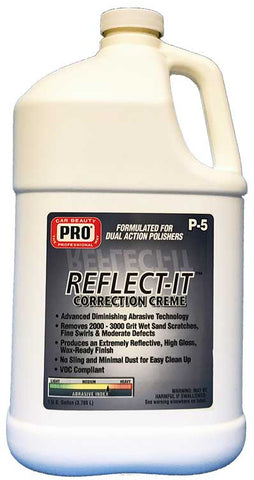 Pro Car Beauty P-5 Reflect-it Correction Creme - Pint - Parts Junkie