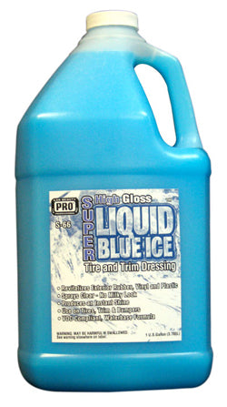 Pro Car Beauty S-66 Liquid Blue Ice Dressing - Gallon - Parts Junkie