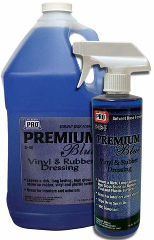 Pro Car Beauty S-86 Premium Blue Solvent Dressing - Pint - Parts Junkie