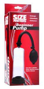 Size Matters Beginner Pump - Fun and Kinky Sex Toys