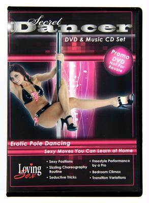Secret Dancer DVD and Music CD Set - Fun and Kinky Sex Toys