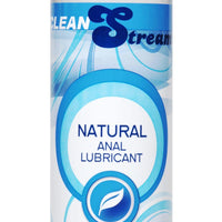 CleanStream Water-Based Anal Lube 8 oz - Fun and Kinky Sex Toys