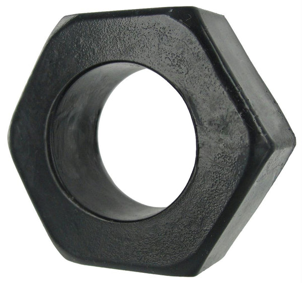 HexNut Cock Ring - Black - Fun and Kinky Sex Toys