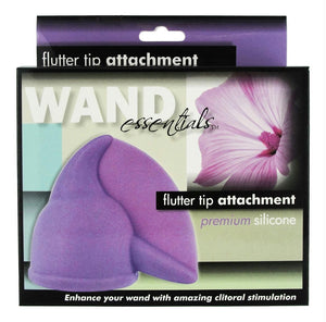 Flutter Tip Silicone Wand Attachment - Fun and Kinky Sex Toys